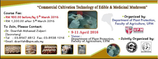 Mushroom Cultivation Course
