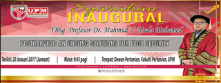Prof. Dr. Mahmud T. Muda Mohamed Inaugural Lecture