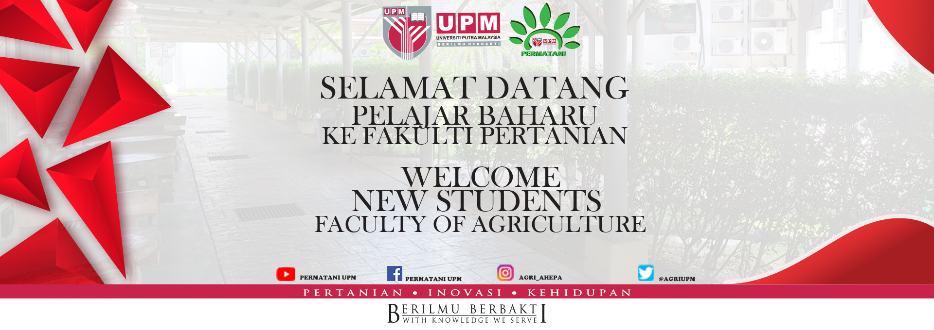 Congratulation & Welcome New Students
